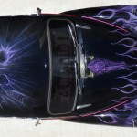 GOTHIC DOOM DEATH BLACK METAL ROCKABILLY CAR AIRBRUSHING NICOSIA CYPRUS