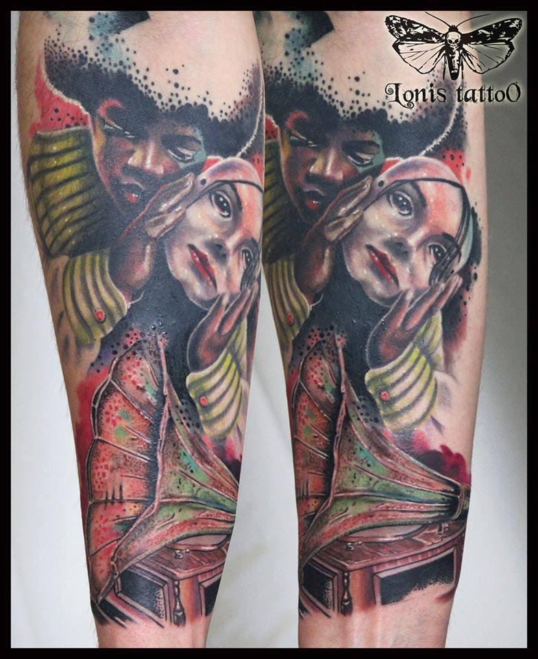 Lonis tattoo studio gr cyprus international tattoo for Studio 7 tattoo