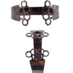 Brass Knuckles Black bracelet (Large)