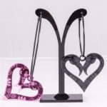 flamingo muerto love hoopspink black (Large)