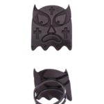 lucha libre cross ring black (Large)