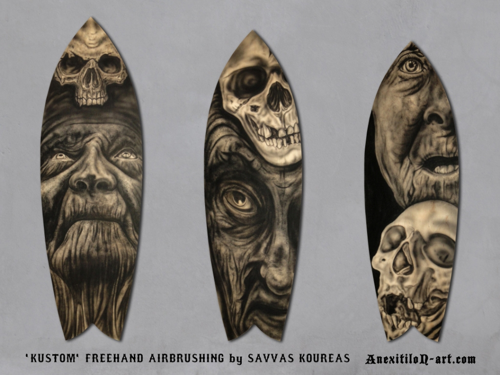 TATTOO CONVENTION TROPHIES BY ANEXITILON-ART.COM