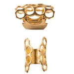 Brass Knuckles Gold Ring (Large)