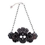 Katrina Rosa black rosario (Large)