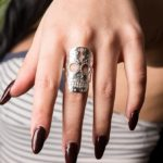 Muerto silver ring model pic (Large)
