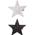 estrella ring blacknwhite (Large)