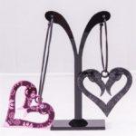 flamingo muerto love hoopspink black (Large)