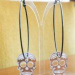 marry skull hoop silver mirror (Large)